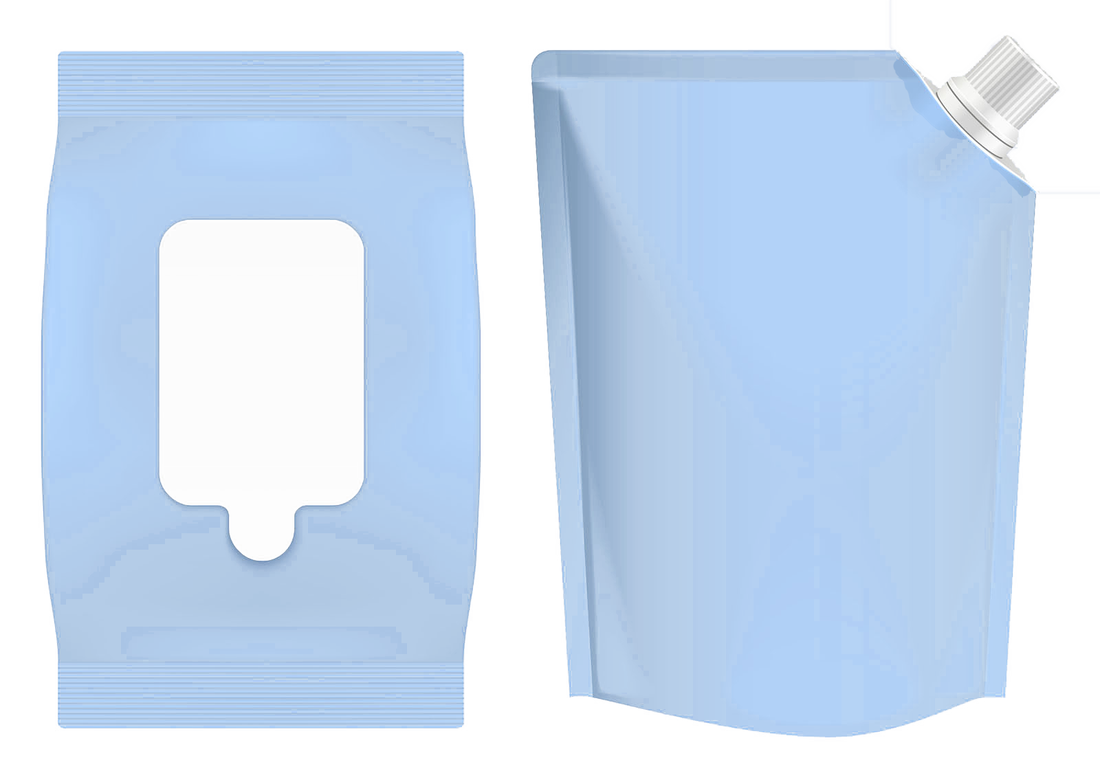 pouch styles blue