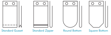 Wicketed bag styles